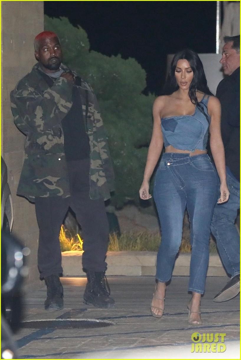 kim kardashian kanye west nobu february 2019 11