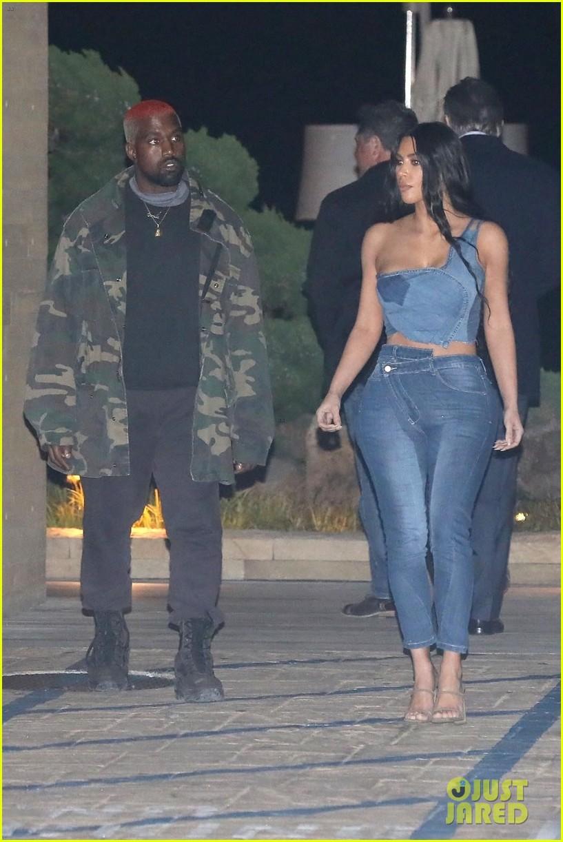 kim kardashian kanye west nobu february 2019 12