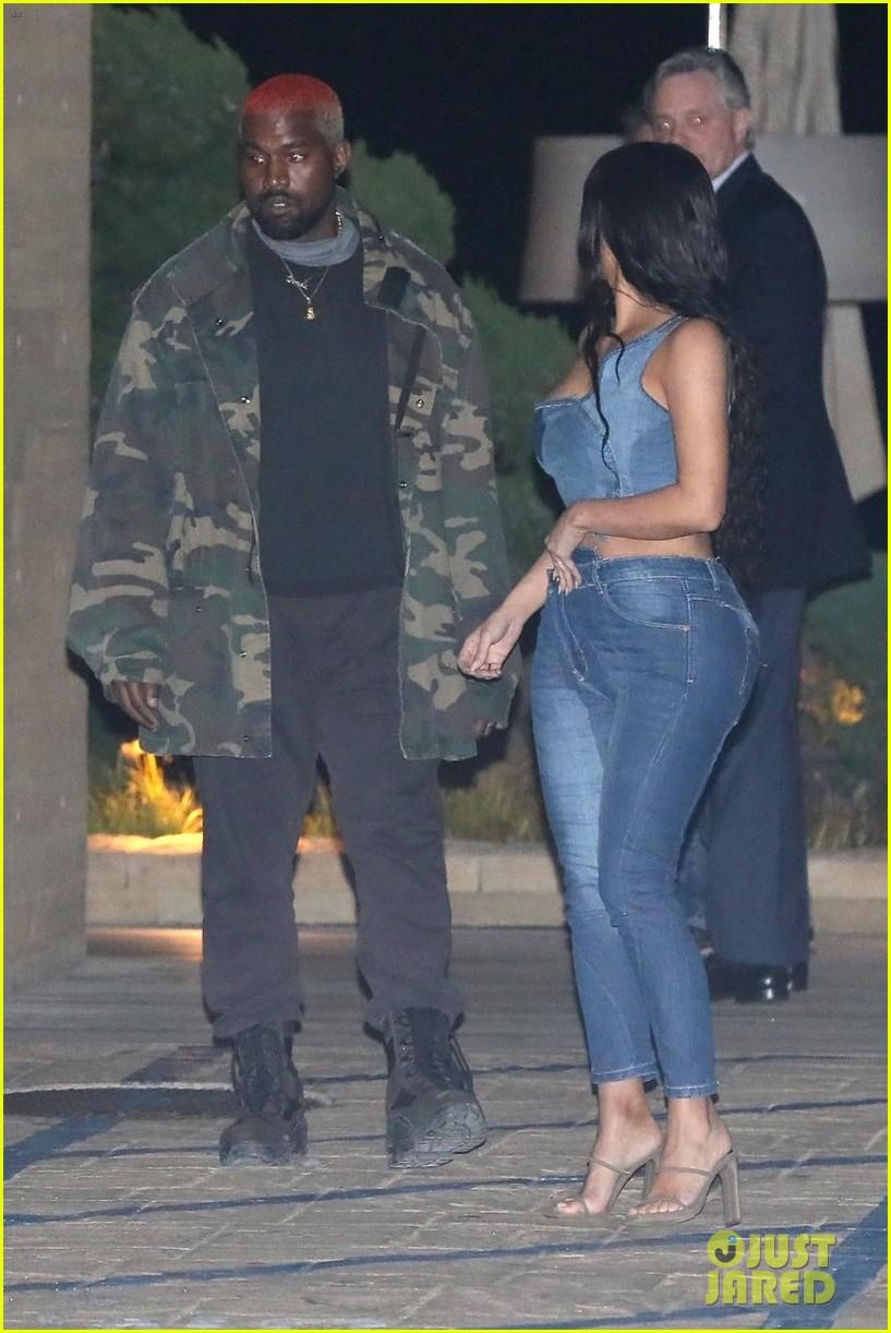 kim kardashian kanye west nobu february 2019 13