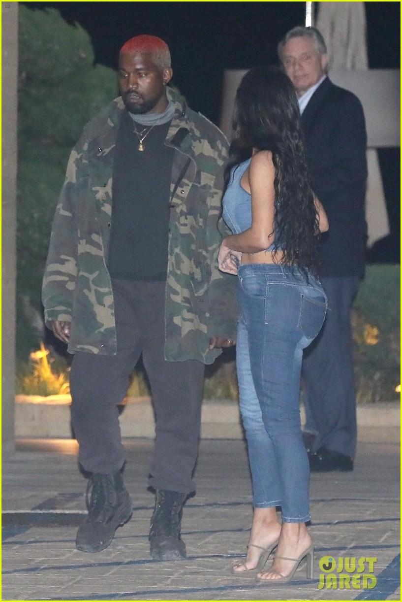 kim kardashian kanye west nobu february 2019 14