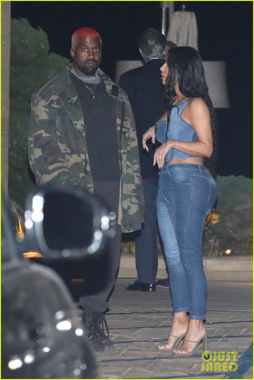 kim kardashian kanye west nobu february 2019 15