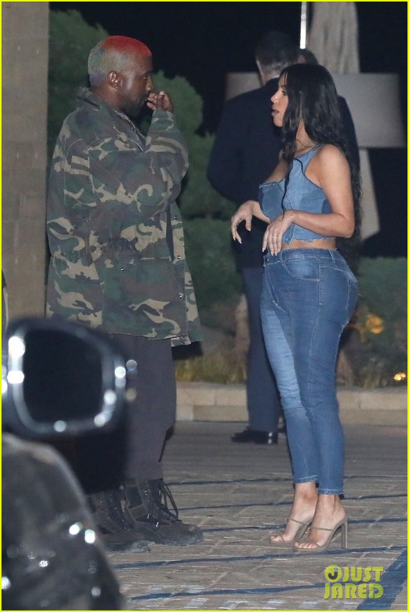 kim kardashian kanye west nobu february 2019 16