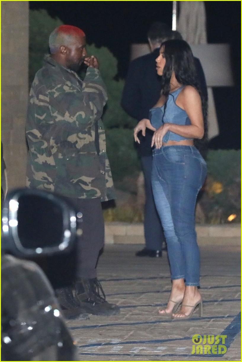 kim kardashian kanye west nobu february 2019 17