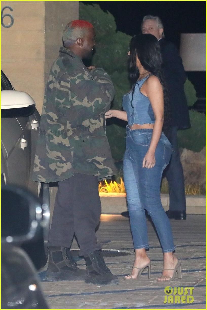 kim kardashian kanye west nobu february 2019 19