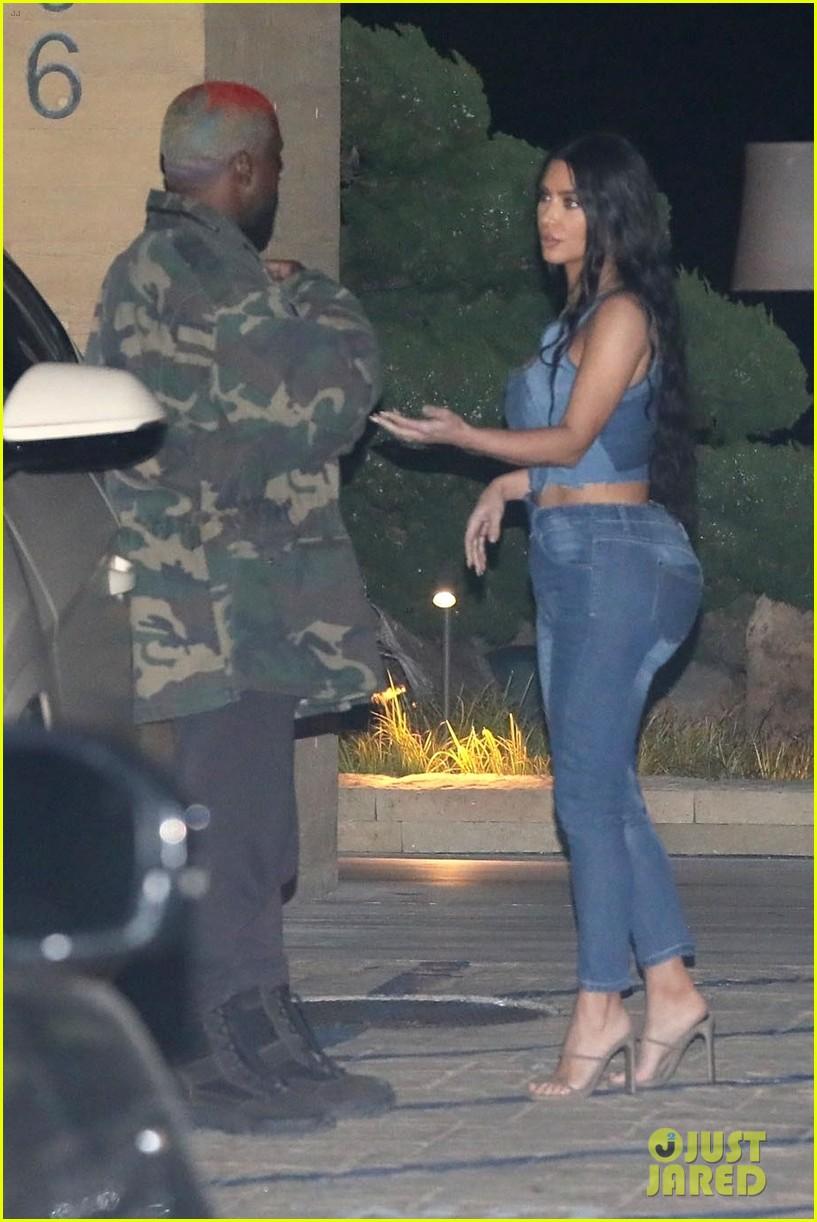 kim kardashian kanye west nobu february 2019 21