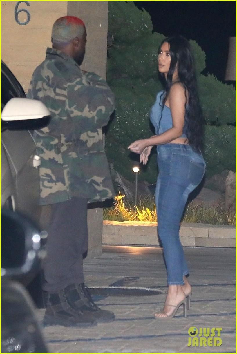kim kardashian kanye west nobu february 2019 22