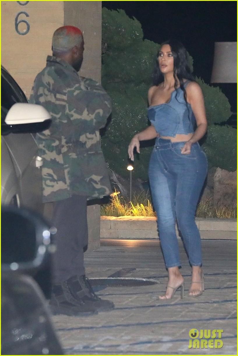 kim kardashian kanye west nobu february 2019 23
