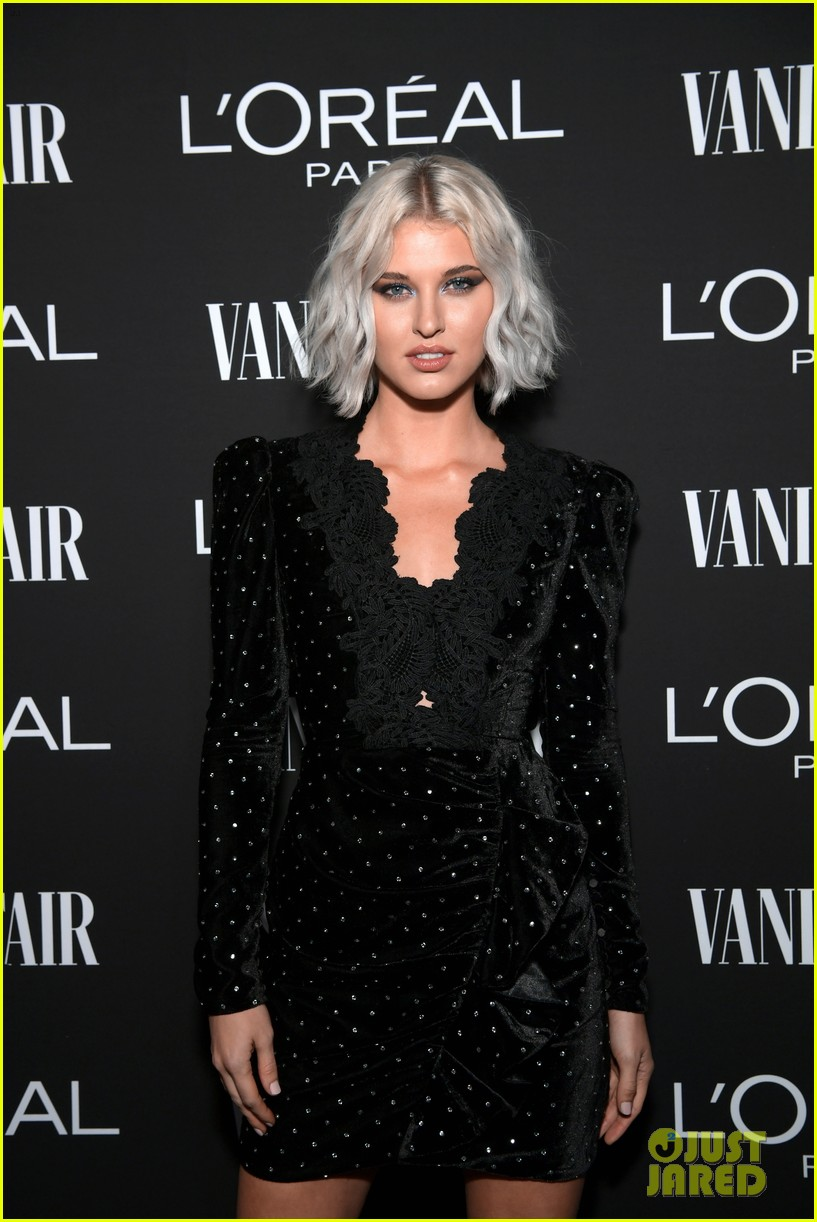 jaime king alex landi more step out for vanity fairs pre oscar party 184241341