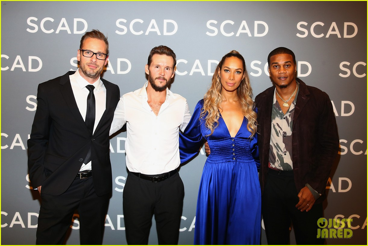 ryan kwanten and leona lewis attend the oath screening at scad atvfest 05