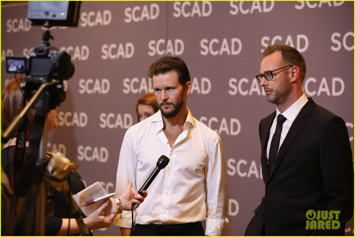 ryan kwanten and leona lewis attend the oath screening at scad atvfest 14