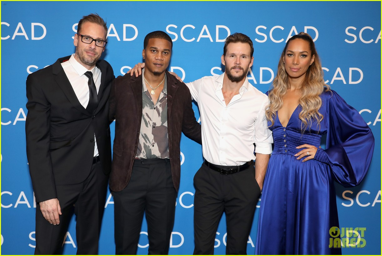 ryan kwanten and leona lewis attend the oath screening at scad atvfest 22