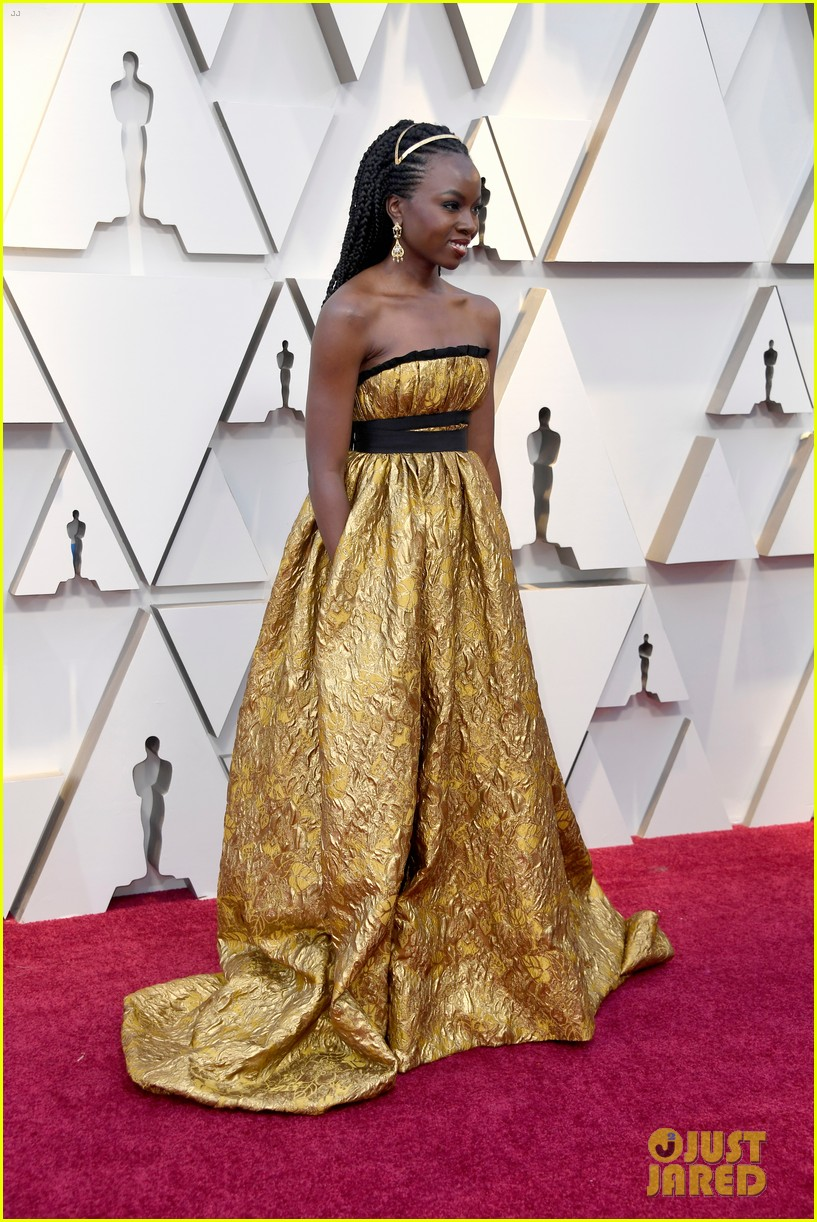 Danai Gurira Amp Letitia Wright Hit The Oscars 2019 Red