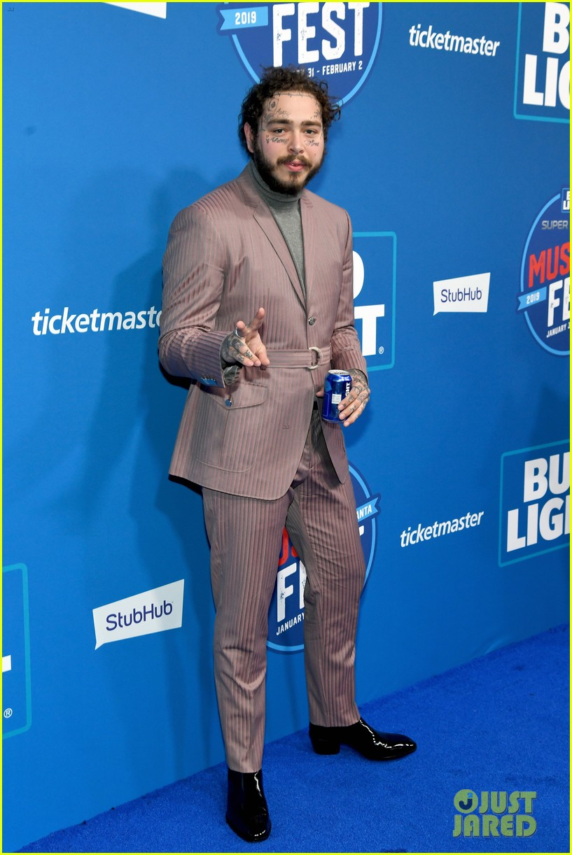 post malone bud light super bowl event 124221959