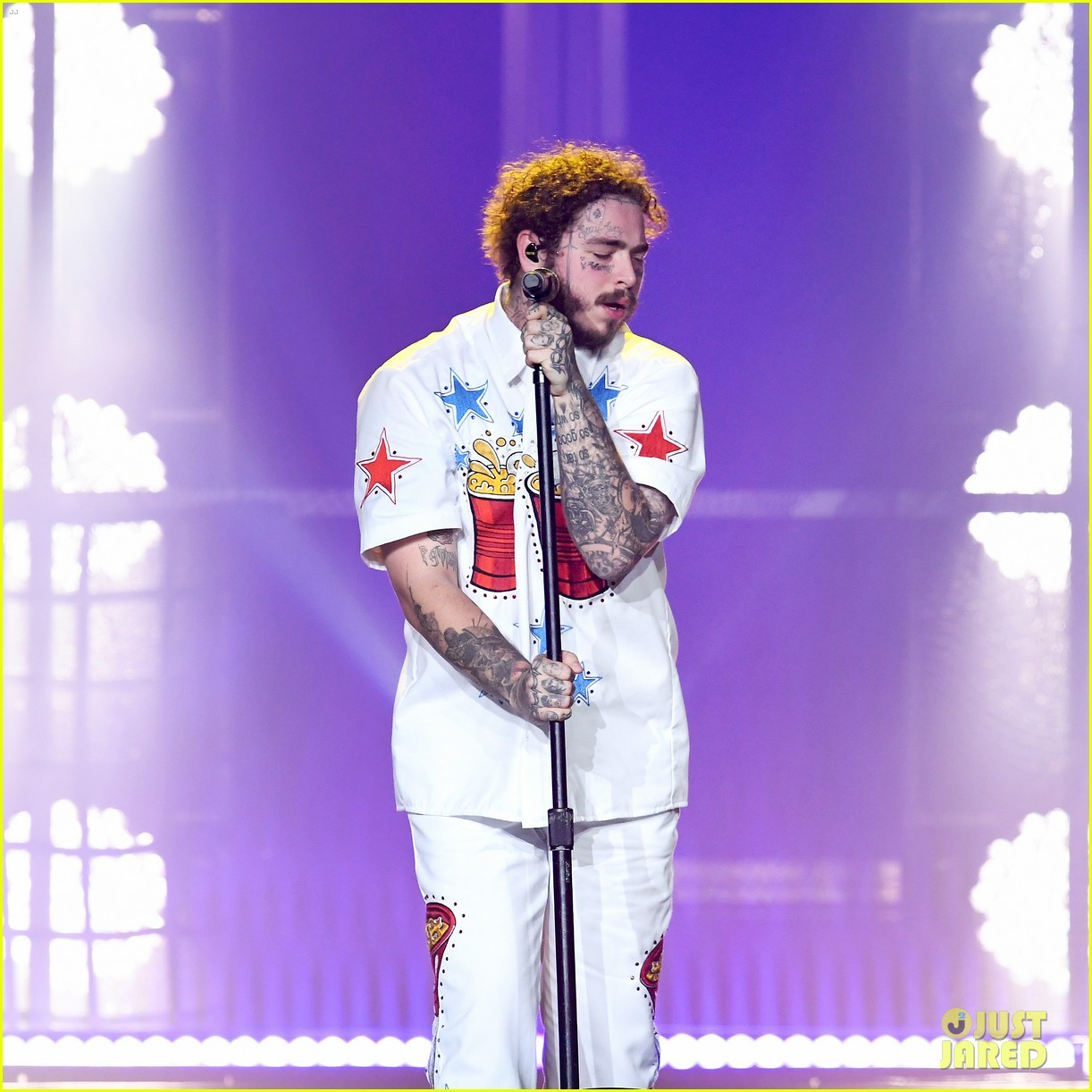 post malone bud light super bowl event 224221969