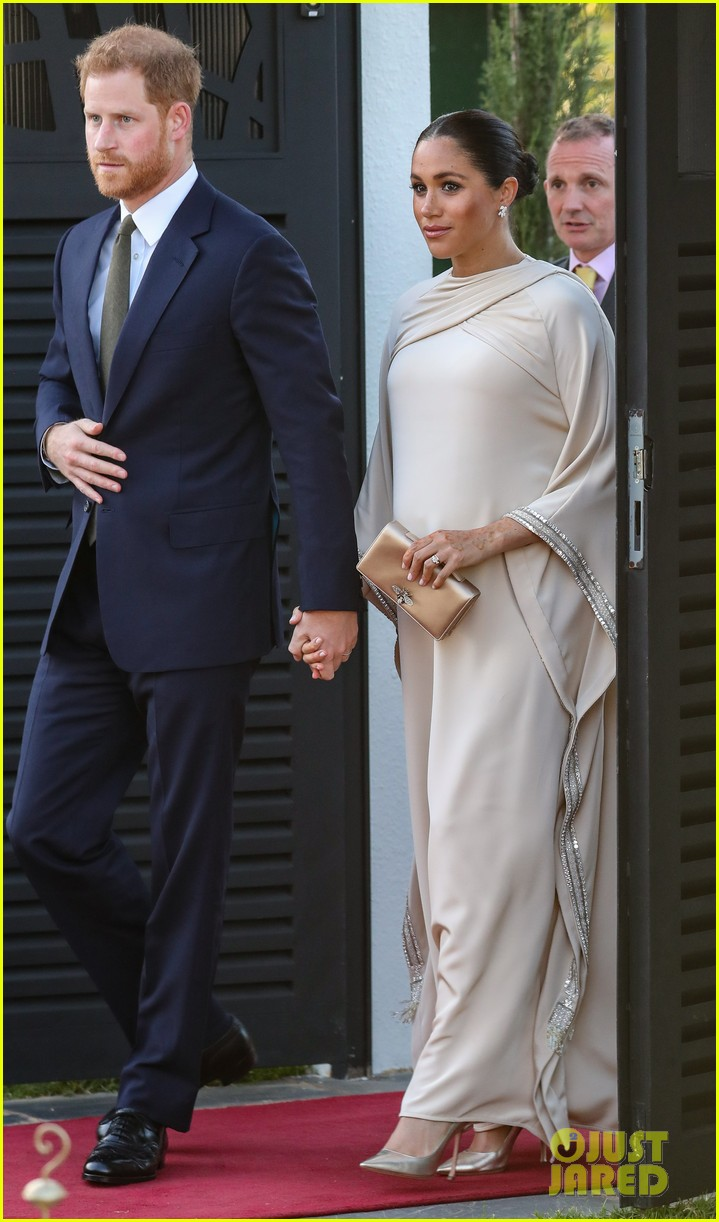 Meghan Markle Looks Stunning For Evening In Morocco With