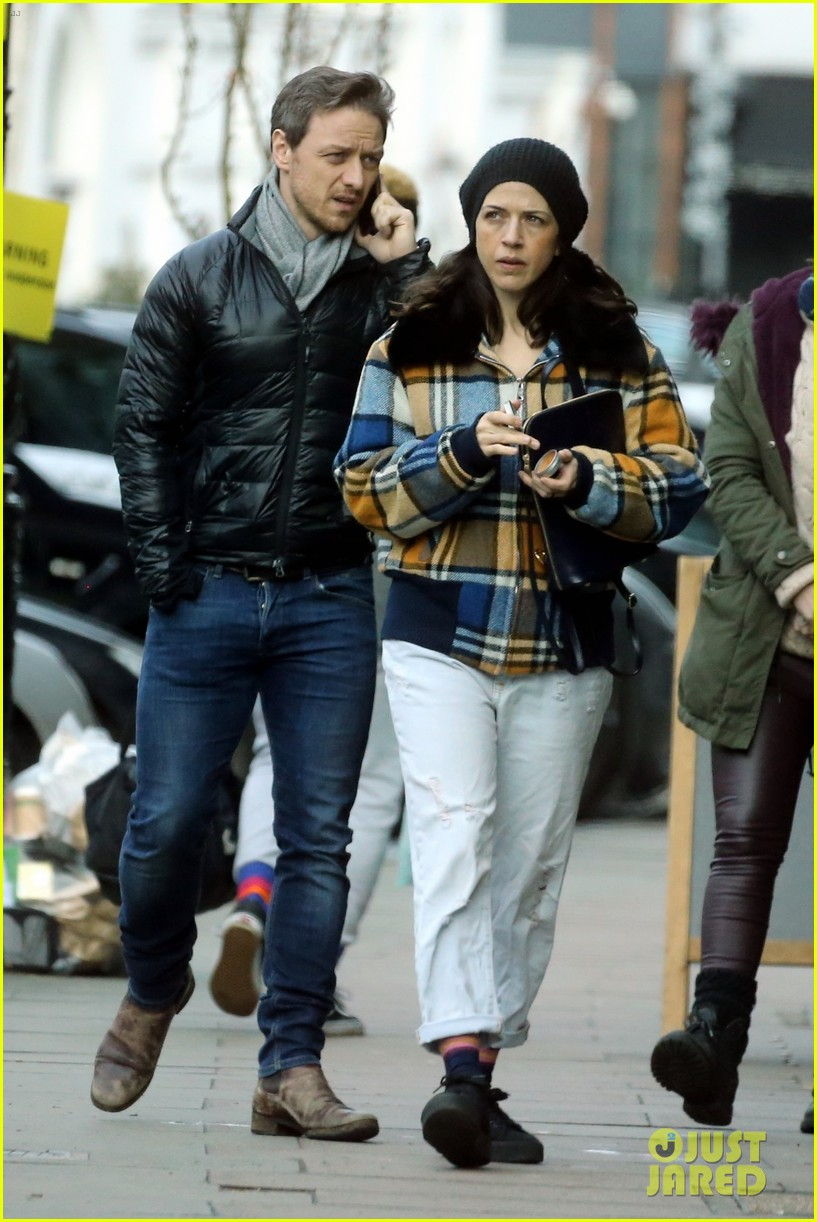James McAvoy & Gir...