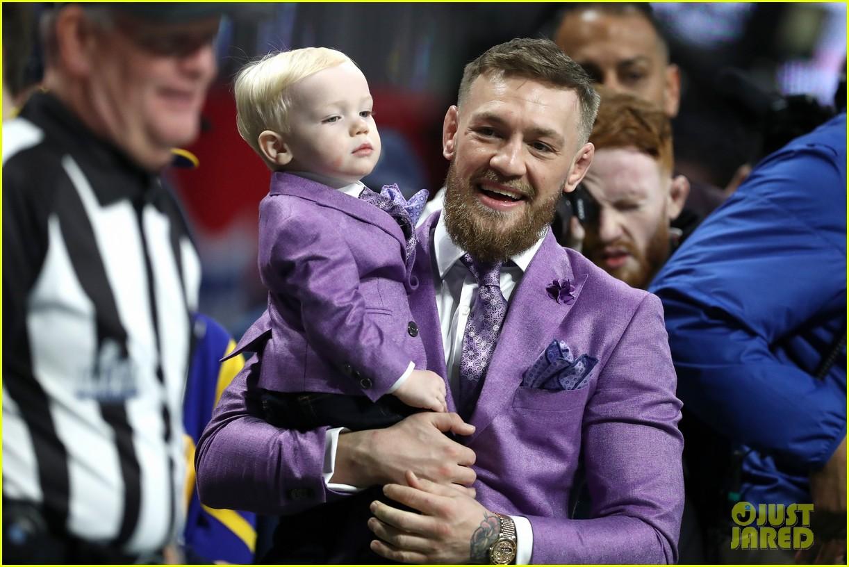 conor mcgregor son conor jr suit up for super bowl 2019 14