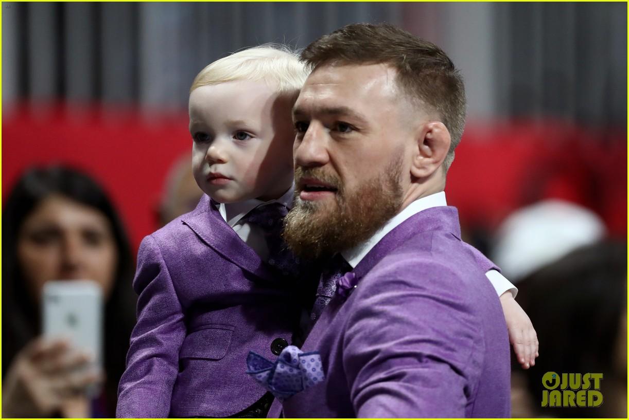 conor mcgregor son conor jr suit up for super bowl 2019 16