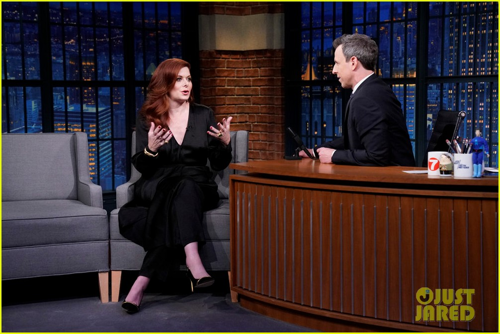 debra messing rocked the rachel from friends before she was on will grace 01