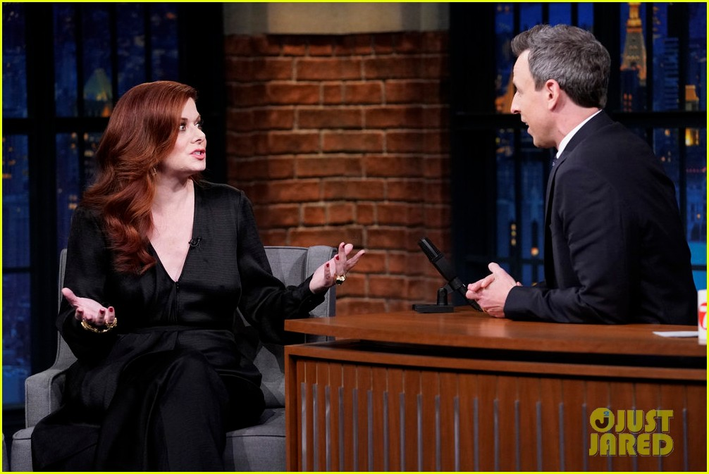 debra messing rocked the rachel from friends before she was on will grace 03
