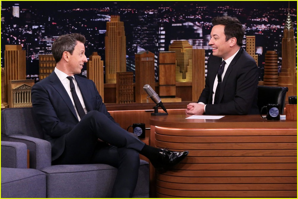 seth meyers opens up about his love for rihanna 014221338