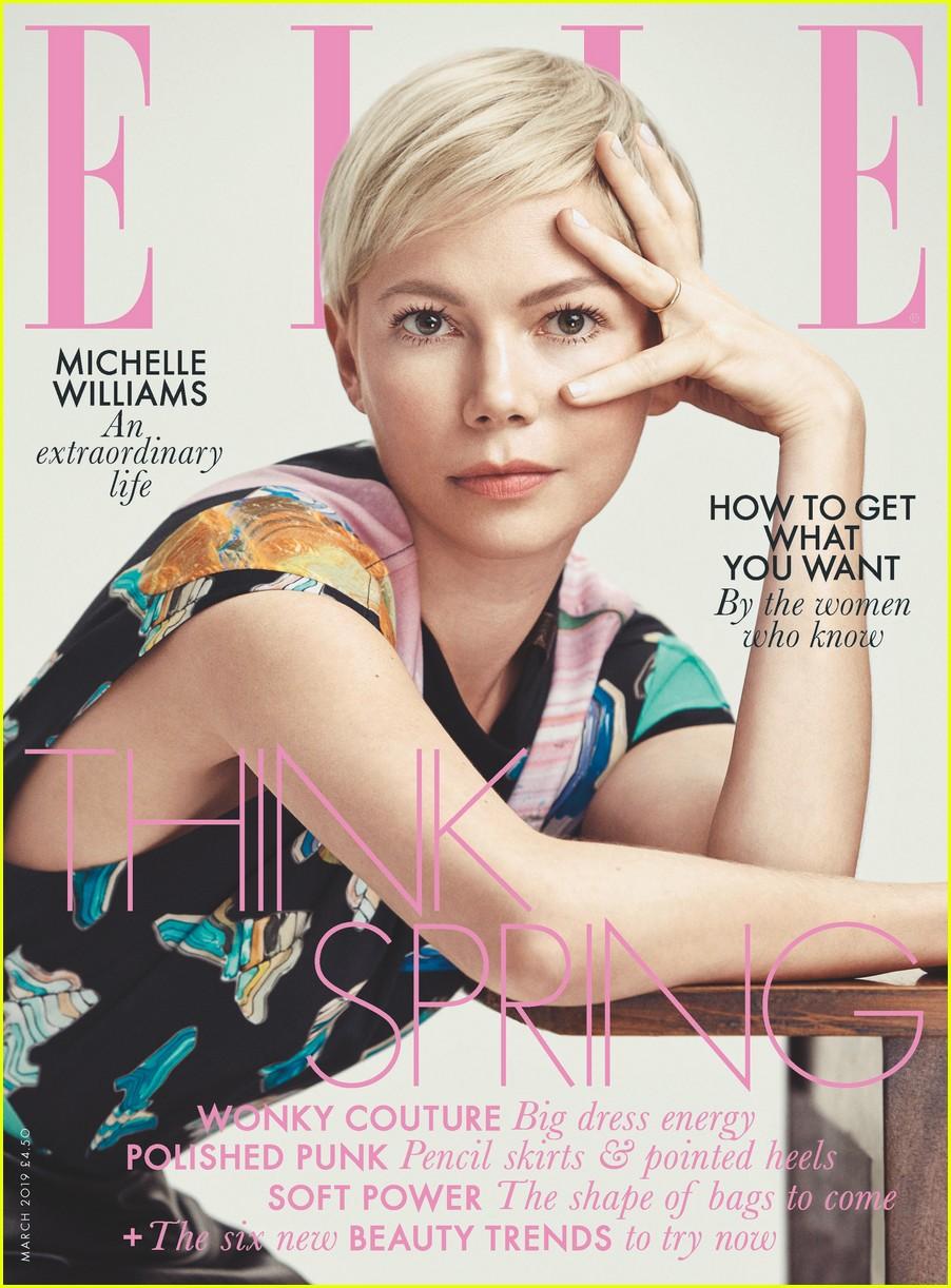 michelle williams elle magazine uk cover 01