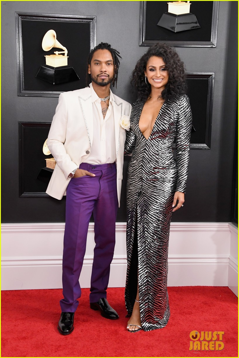 miguel wife 2019 grammy awards 014236507