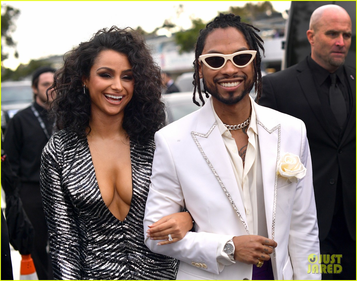 miguel wife 2019 grammy awards 034236509