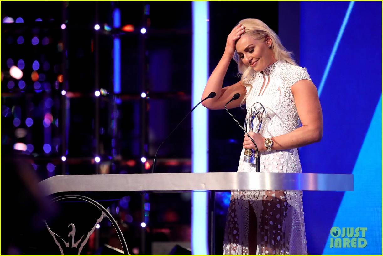 novak djokovic lindsey vonn laureus awards 17