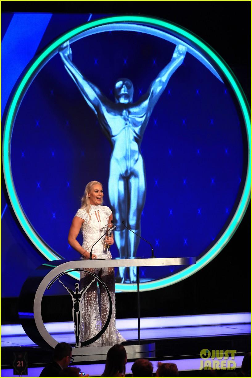 novak djokovic lindsey vonn laureus awards 18