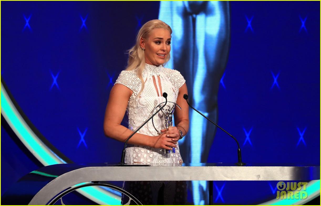 novak djokovic lindsey vonn laureus awards 20