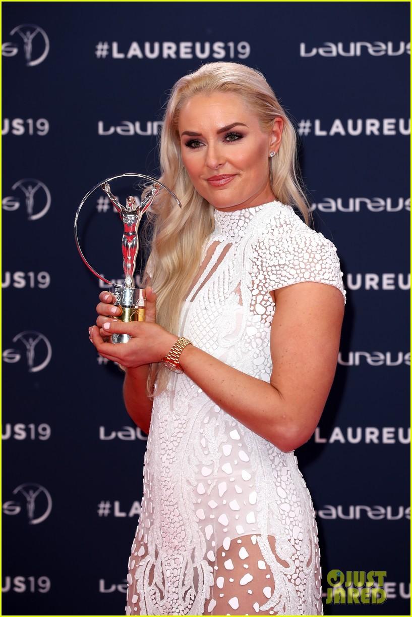 novak djokovic lindsey vonn laureus awards 22