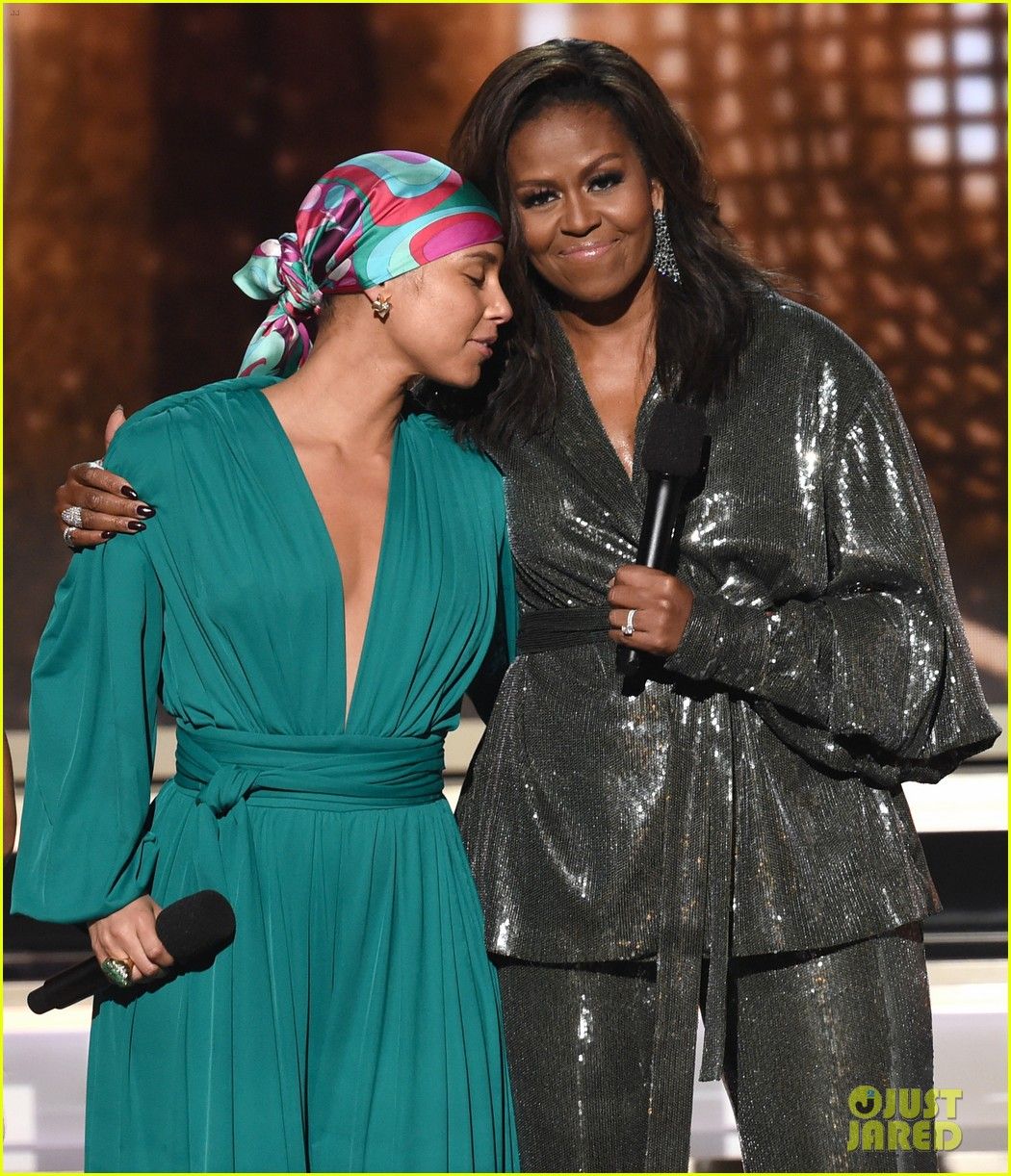 Michelle Obama, Alicia Keys, & More Share Powerful Grammys