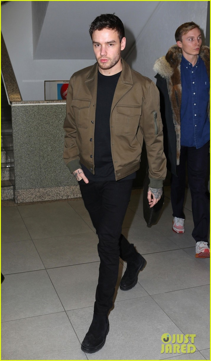 liam payne makes his arrival in milan for fashion week 014242860