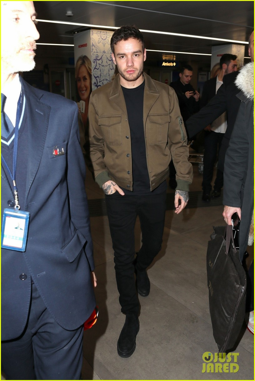 liam payne makes his arrival in milan for fashion week 054242864