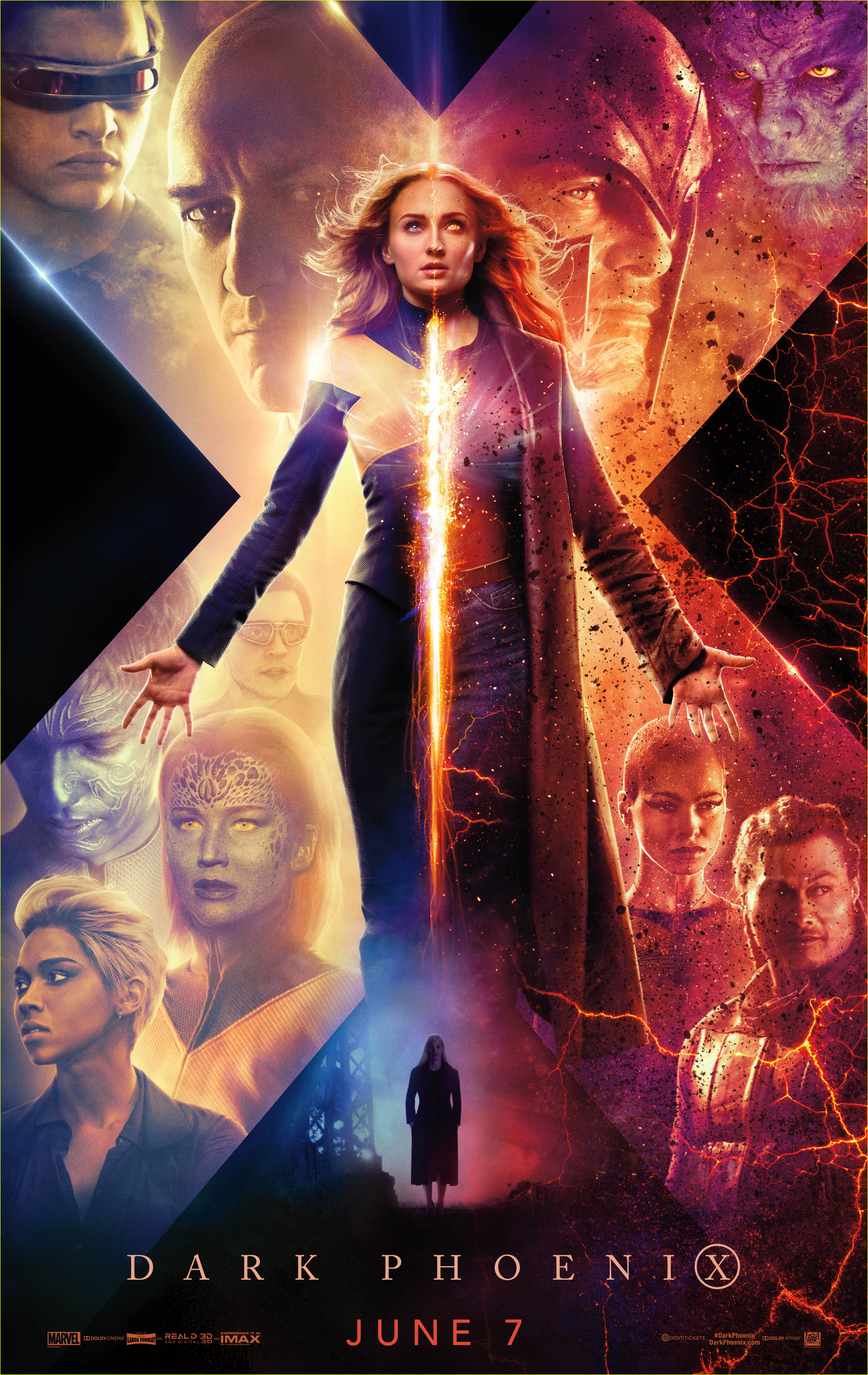 Dark Phoenix Releases New Trailer Amp Poster Watch Here