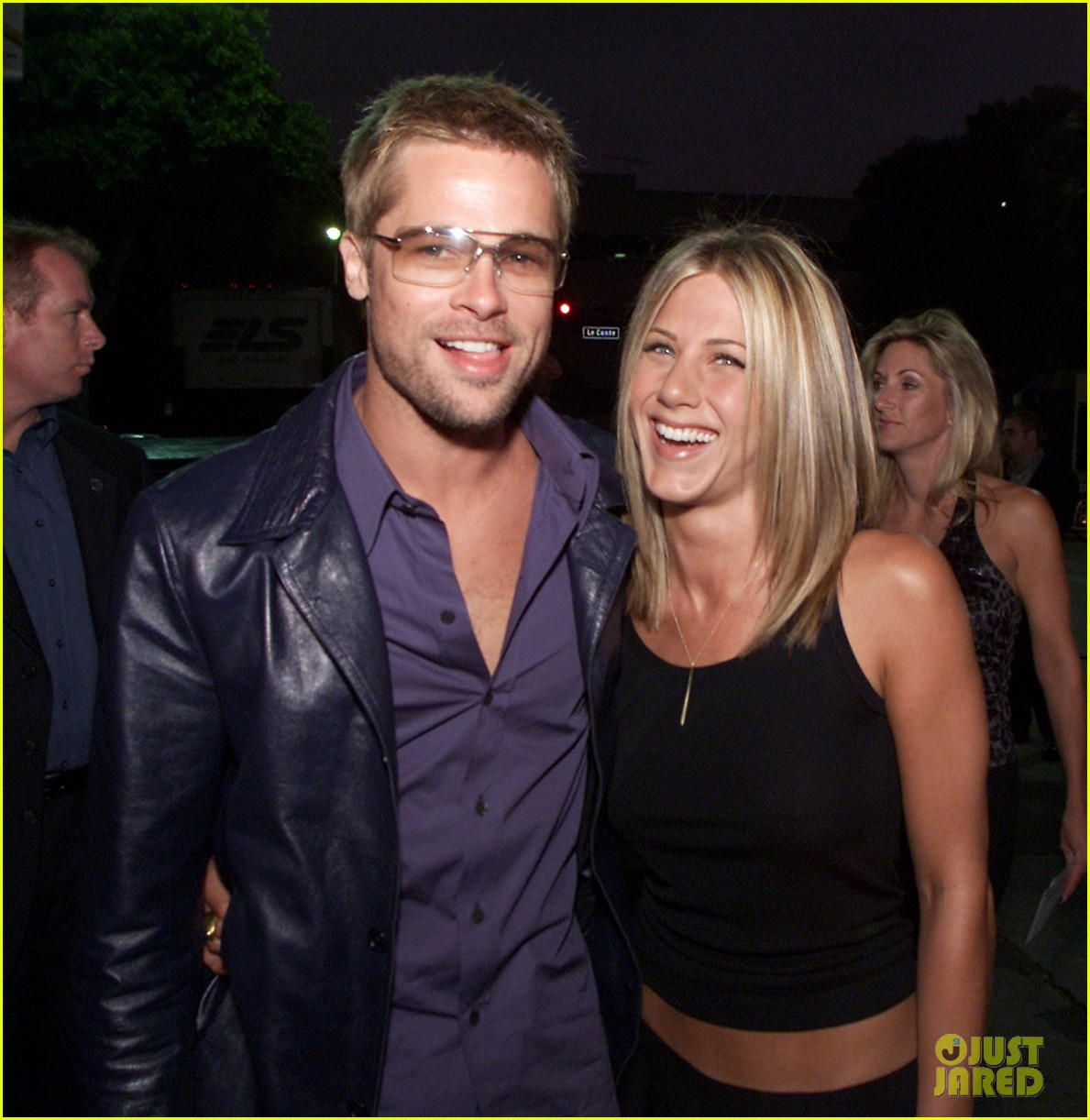 brad pitt jennifer aniston invite 014235502