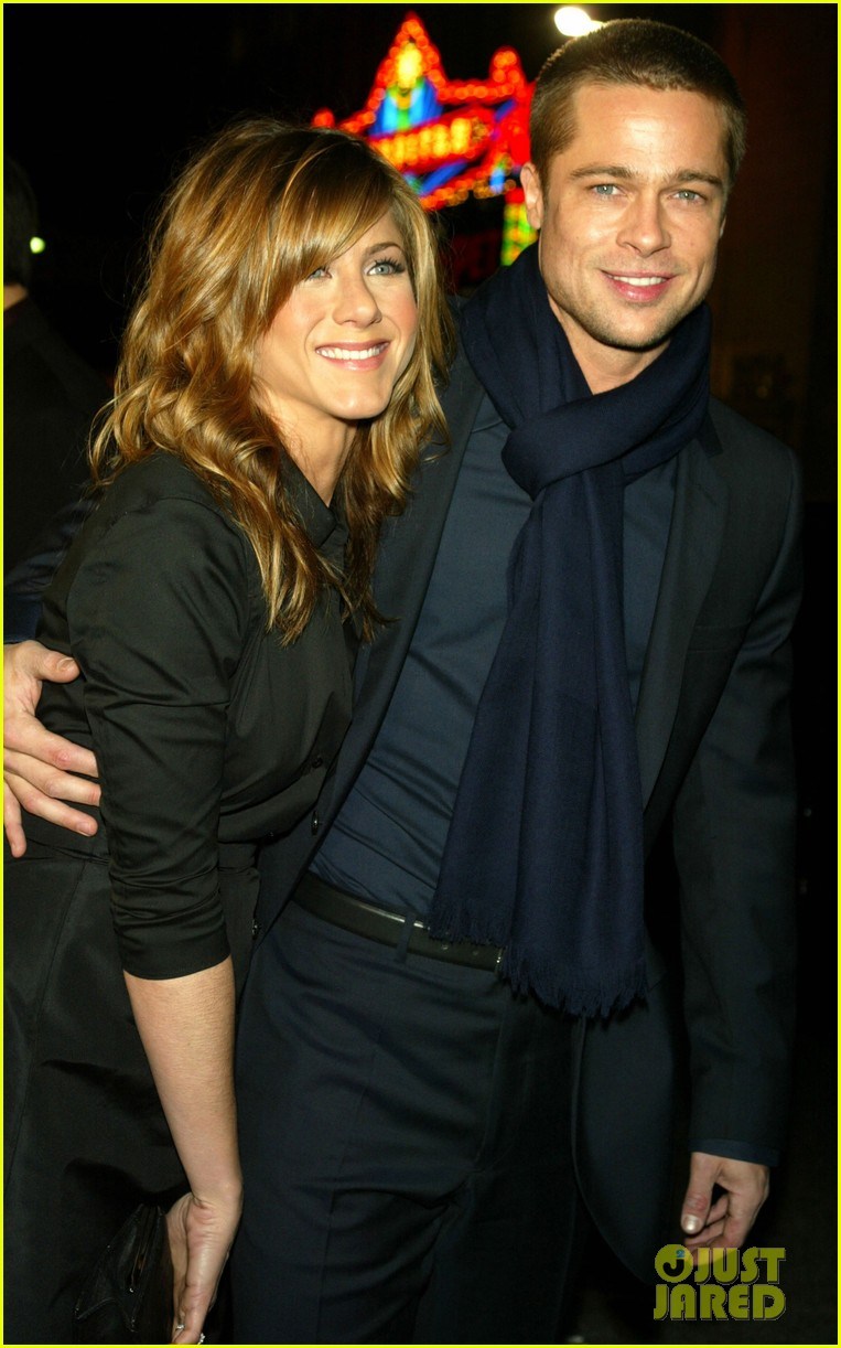 brad pitt jennifer aniston invite 034235504