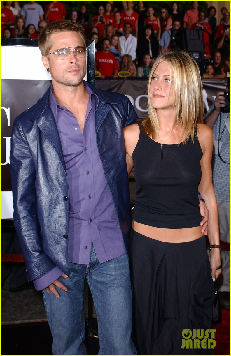 brad pitt jennifer aniston invite 074235508