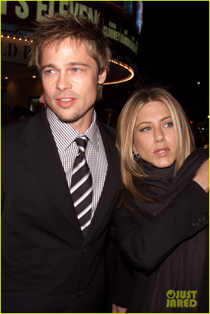 brad pitt jennifer aniston invite 084237324