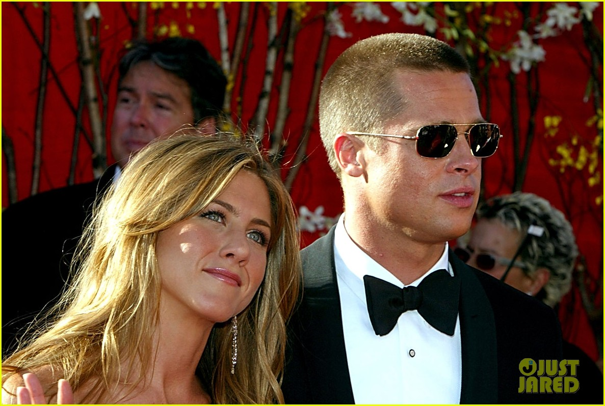 brad pitt jennifer aniston invite 194237335