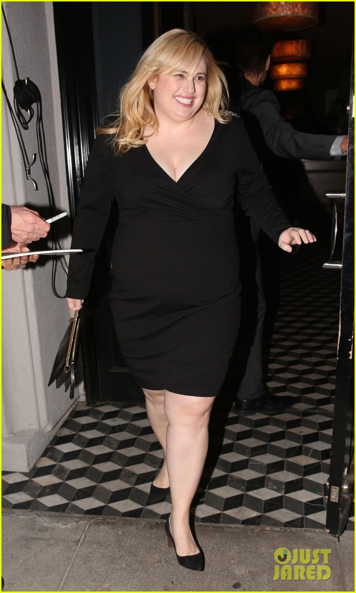 rebel wilson grabs dinner with friends at craigs 054241323