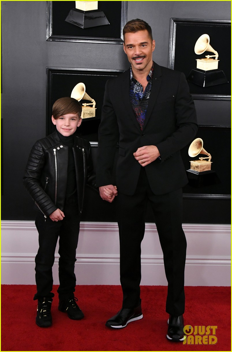 Ricky Martin Brings His Son Matteo To The Grammys 2019
