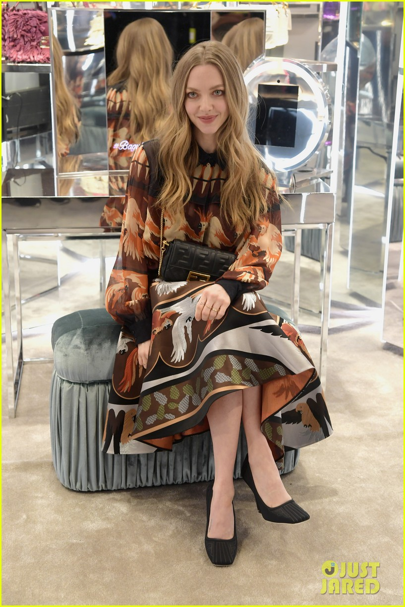emma roberts amanda seyfried step out for fendi event in nyc 13
