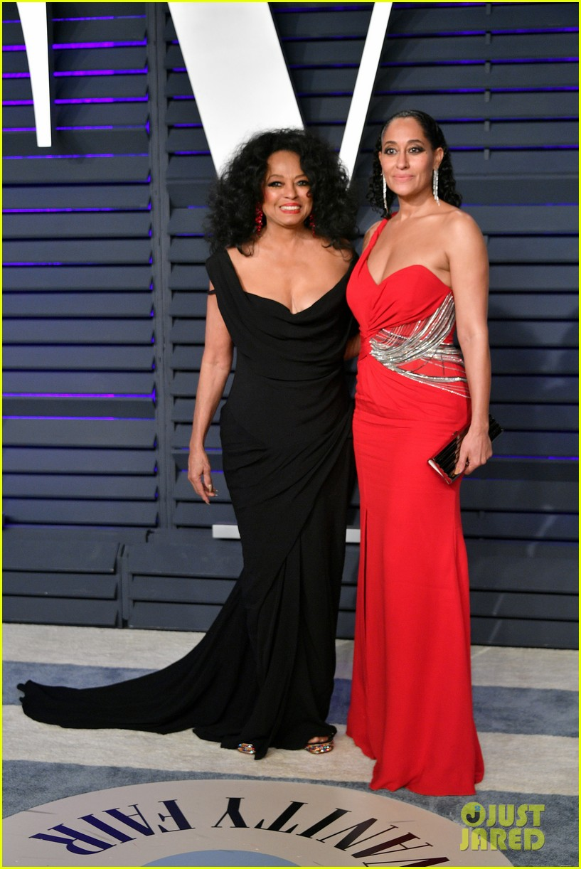 diana ross joins kids tracee evan vanity fair oscar party 064246159