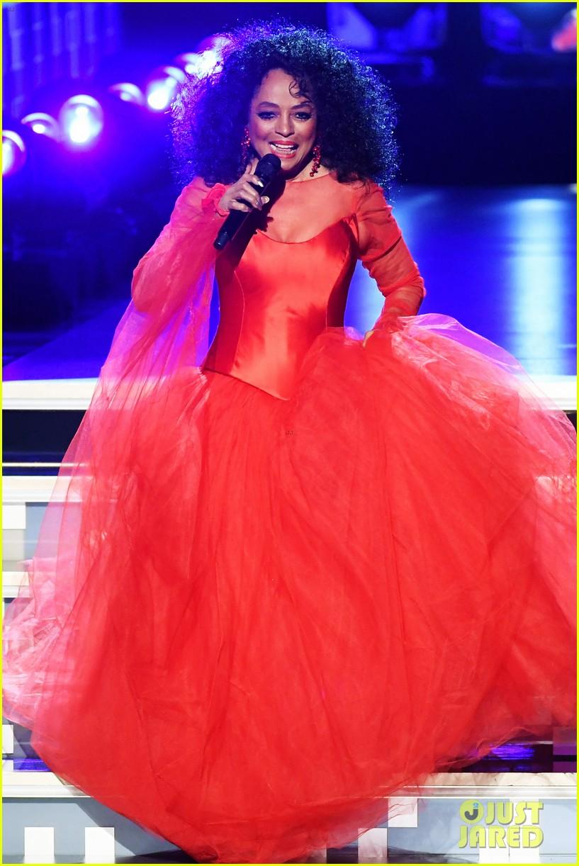 Diana Ross Celebrates Upcoming 75th Birthday At Grammys