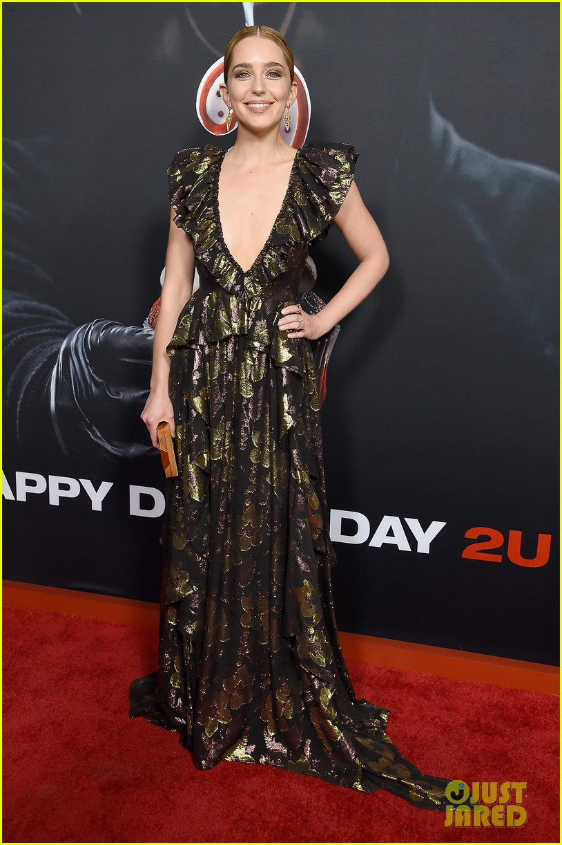 jessica rothe happy death day 2u premiere 014237855