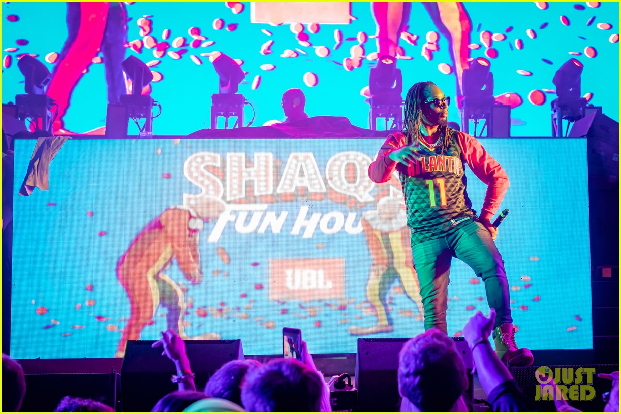 tim tebow demi leigh nel peters join shaq at fun house party 154222603