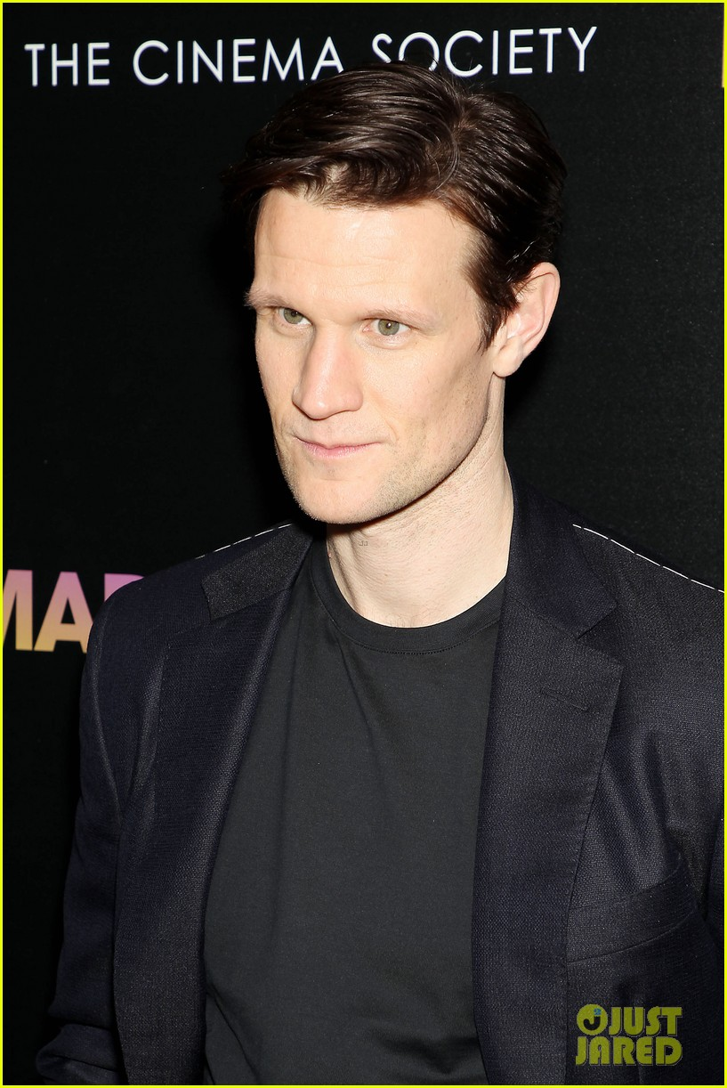 matt smith steps out for screening of mapplethorpe in nc 014239405