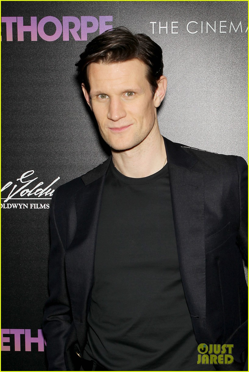matt smith steps out for screening of mapplethorpe in nc 024239406